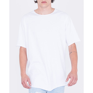 [지아니루포]]Oversize Fit Premium Cotton 254A 반팔티(WH)