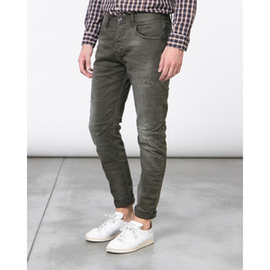 [지아니루포]Slim Fit Vintage Wash GL012F 청바지(GN)